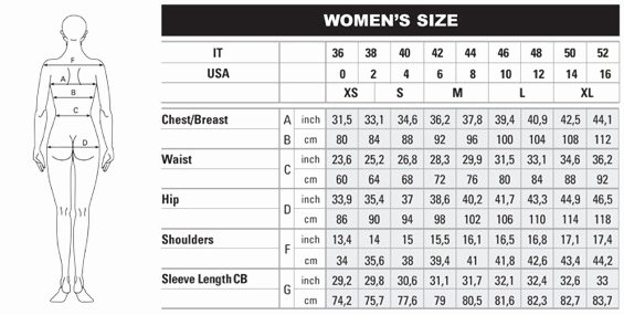 Clothing Size Chart Template Awesome Usa Shops Shipping International Us Online Shopping