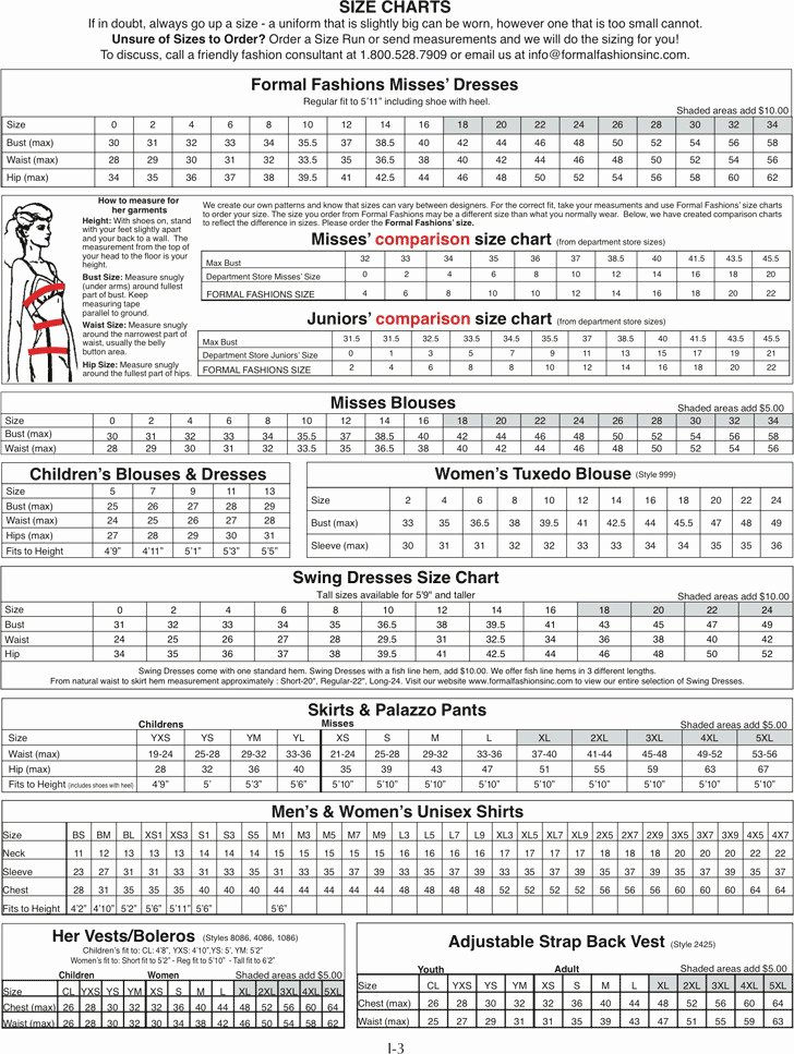 Clothing Size Chart Template Inspirational Download Clothing Size Chart for Free Tidytemplates