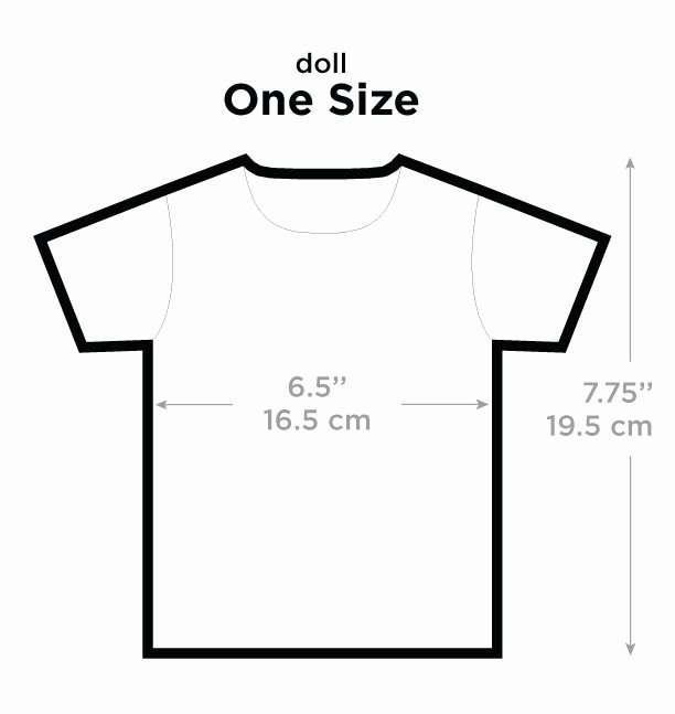 Clothing Size Chart Template Inspirational T Shirts Picture This Clothing