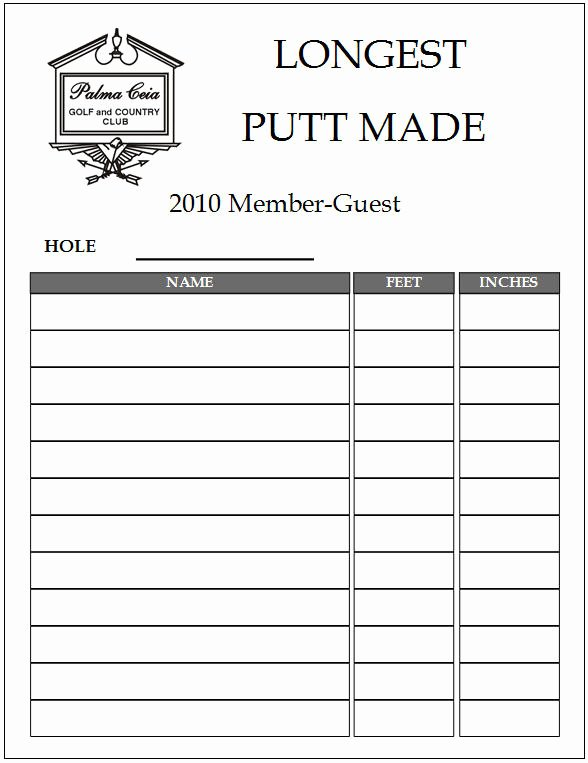 Club Sign Up Sheet Template Awesome Miscellaneous Reports