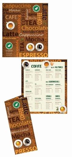 Coffee Shop Menu Template Awesome 1000 Ideas About Coffee Shop Menu On Pinterest