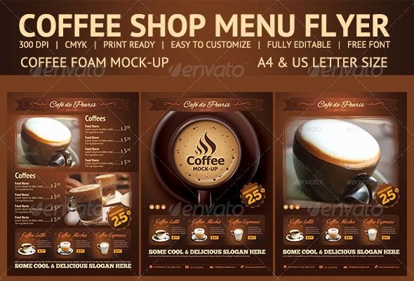Coffee Shop Menu Template Awesome 109 Best Images About Pub Menu On Pinterest