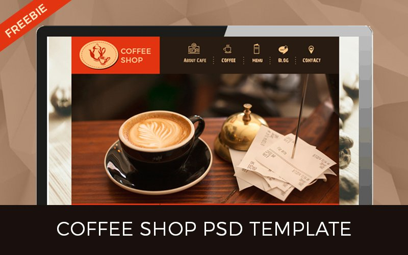 Coffee Shop Website Template Beautiful top 10 Web Design Freebies You Ll Love Designer Mag