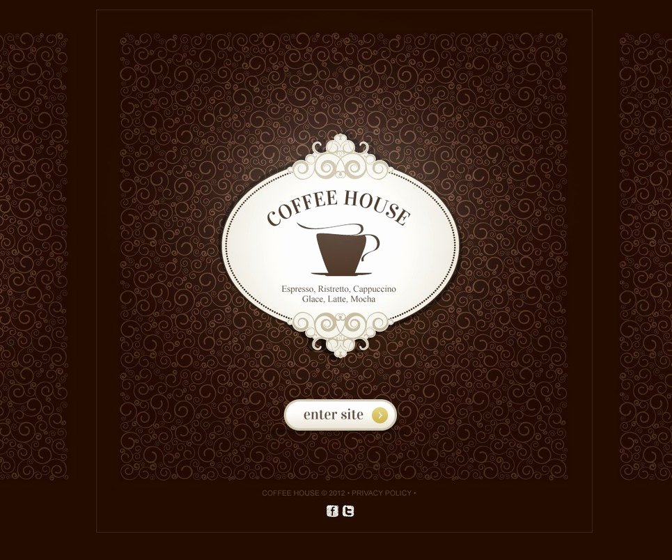 Coffee Shop Website Template Best Of Coffee Shop Website Template