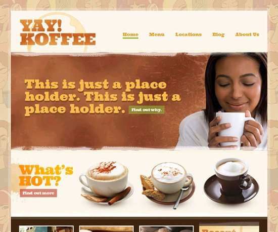 Coffee Shop Website Template Inspirational 30 Free HTML Css Restaurant Website Templates = Delicious