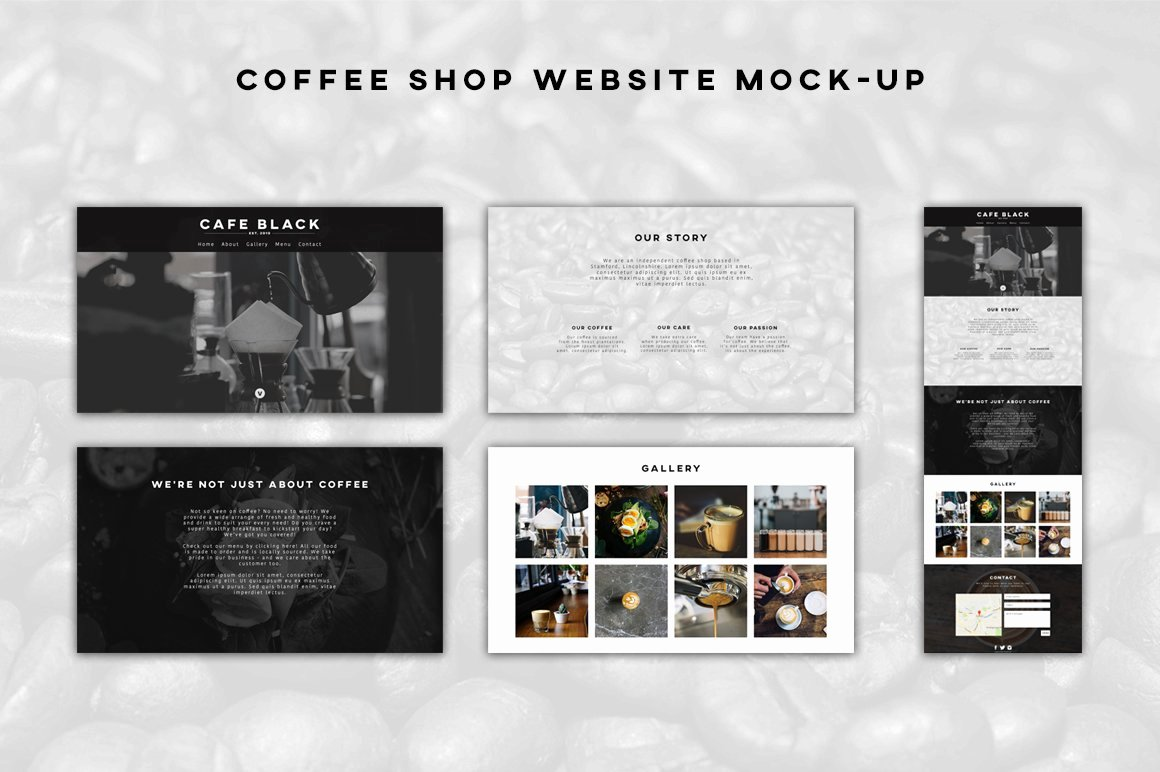 Coffee Shop Website Template New Coffee Shop Website Template Website Templates