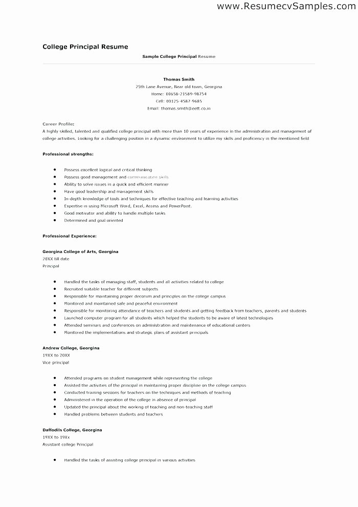 College App Resume Template Lovely Pretty College Application Resume Template S