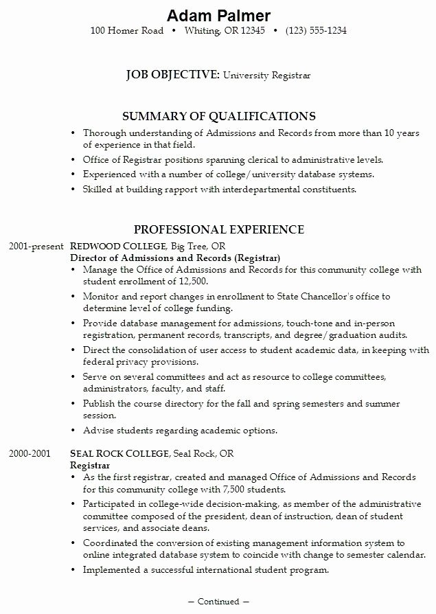 College App Resume Template New College Application Resume Examples for High School