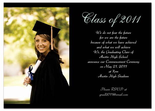 College Graduation Invitation Template Awesome Graduation Invitations Easyday