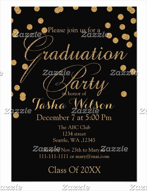 College Graduation Invitation Template Beautiful 34 Sample Invitation Templates Psd Ai