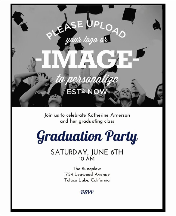 College Graduation Invitation Template Elegant 37 Invitation Templates Word Pdf Psd Publisher
