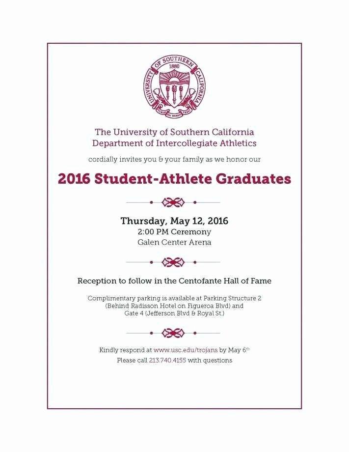 College Graduation Invitation Template Elegant College Graduation Announcement Template Elegant College
