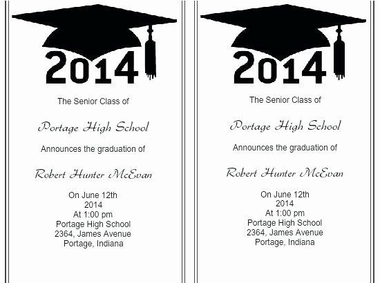 College Graduation Invitation Template Inspirational Printable Templates for Grad Announcements Graduation