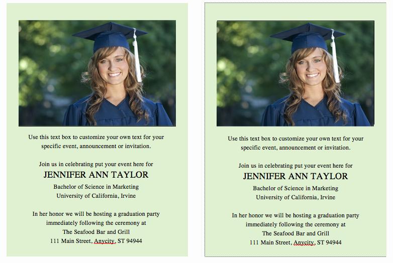 College Graduation Invitation Template Luxury Free Graduation Invitation Template – Celebrations Of Life