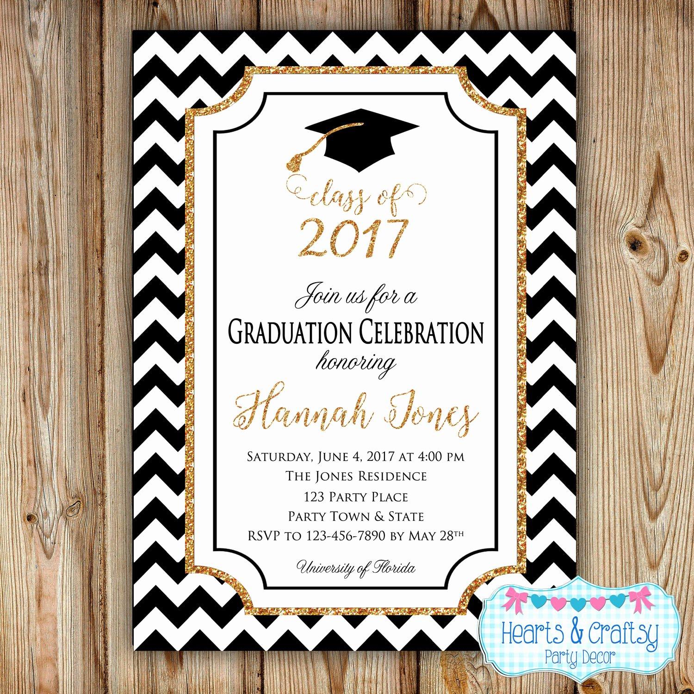 College Graduation Invitation Template Luxury Graduation Party Invitation College Graduation Invitation