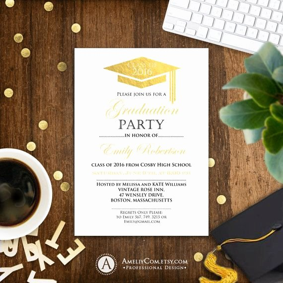 College Graduation Invitation Template Unique 1000 Ideas About College Graduation Announcements On