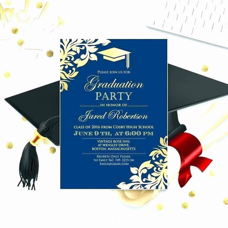 College Graduation Invitation Template Unique Free Party Invitation Templates Invite Template Graduation