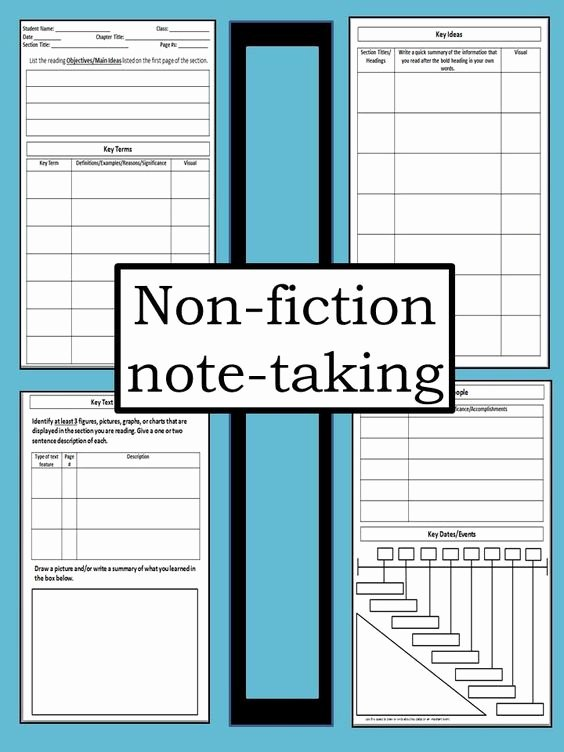 College Note Taking Template Beautiful Cornell Notes Templates and High Schools On Pinterest