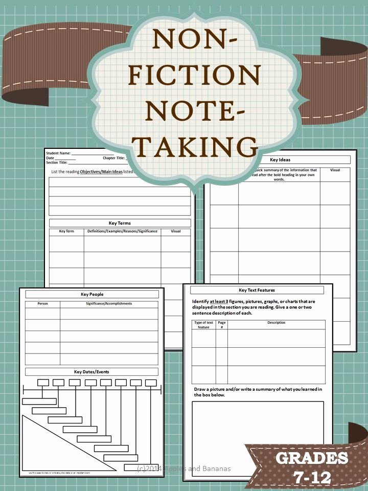 College Note Taking Template Fresh 25 Best Ideas About Cornell Notes On Pinterest