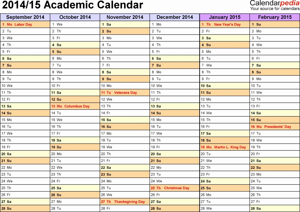 College School Schedule Template Beautiful College Calendar Template