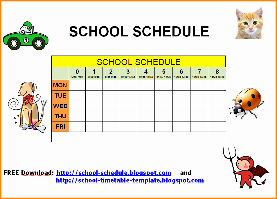 College School Schedule Template Best Of Central Washington University Acalog Acms