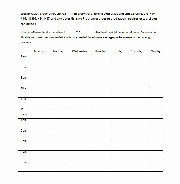 College School Schedule Template Best Of Free High School Timetable Maker Free Printables the