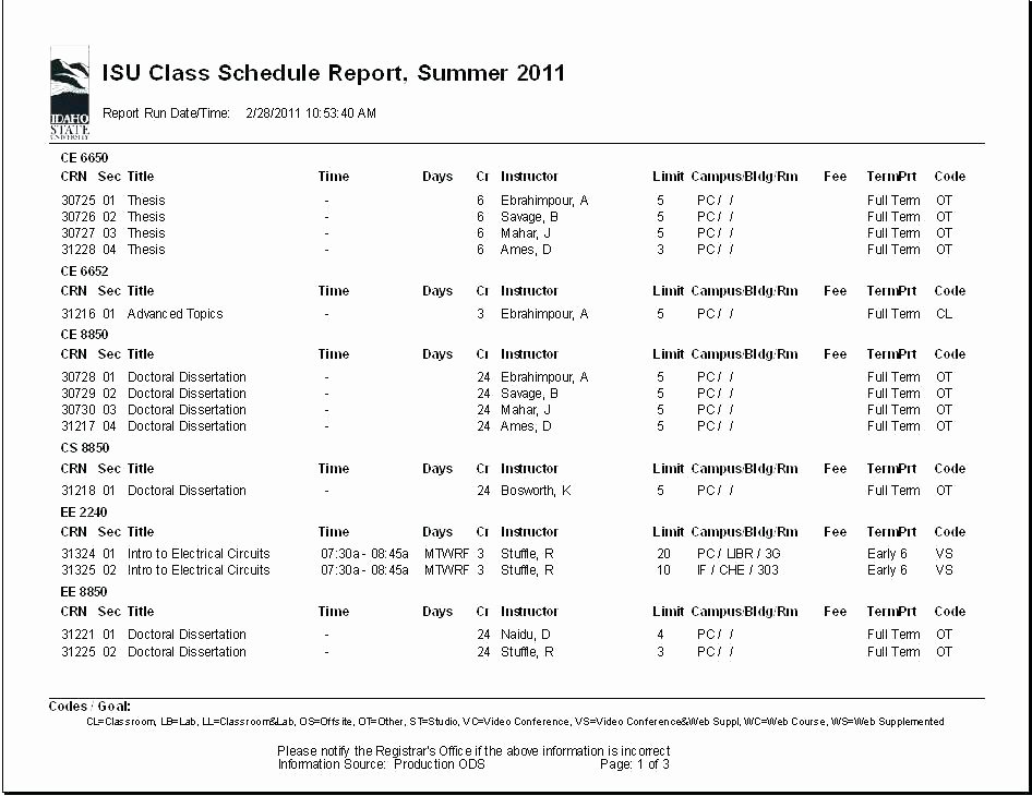 College School Schedule Template Elegant Class Timetable Template School Schedule Templates Blank