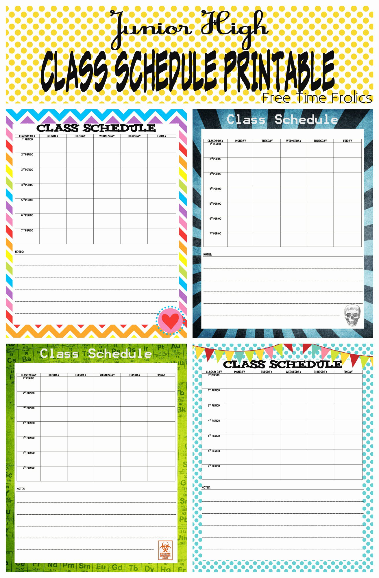 College School Schedule Template Inspirational 4 Best Of Class Time Schedule Printable Weekly