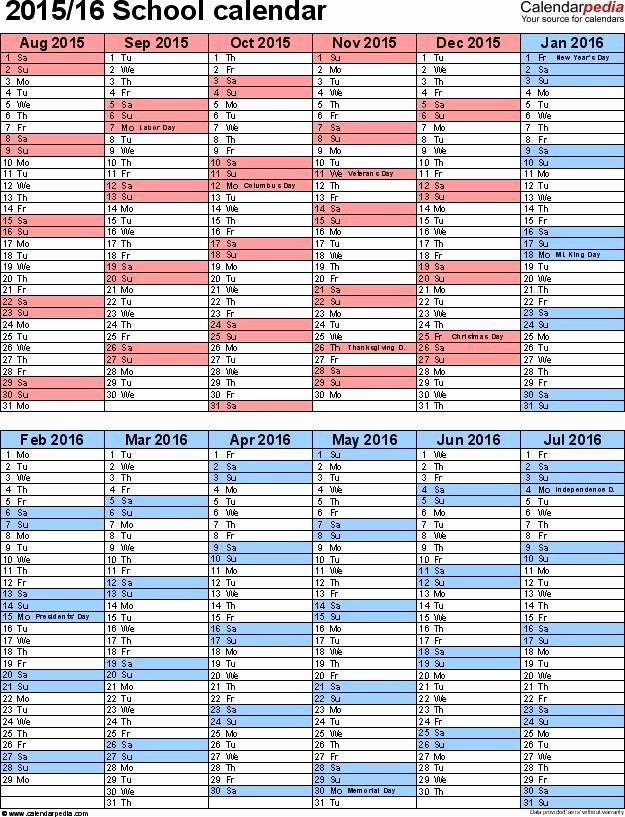 College School Schedule Template New for College Alg Syllabus Template 5 School Year Calendar