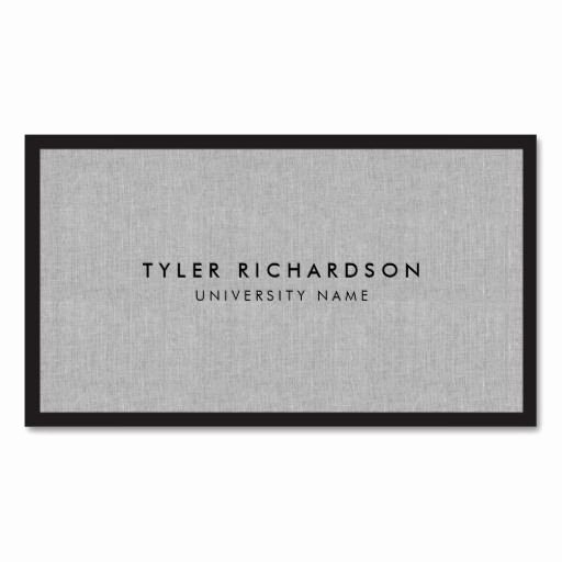 College Student Business Card Template Awesome Best 21 Business Cards for College and University Students