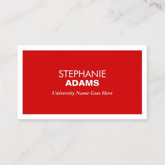 College Student Business Card Template Beautiful Business Card for College Student Business Card