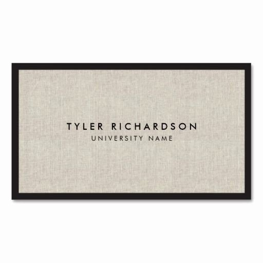 College Student Business Card Template Inspirational Professional New Graduate Student Business Card