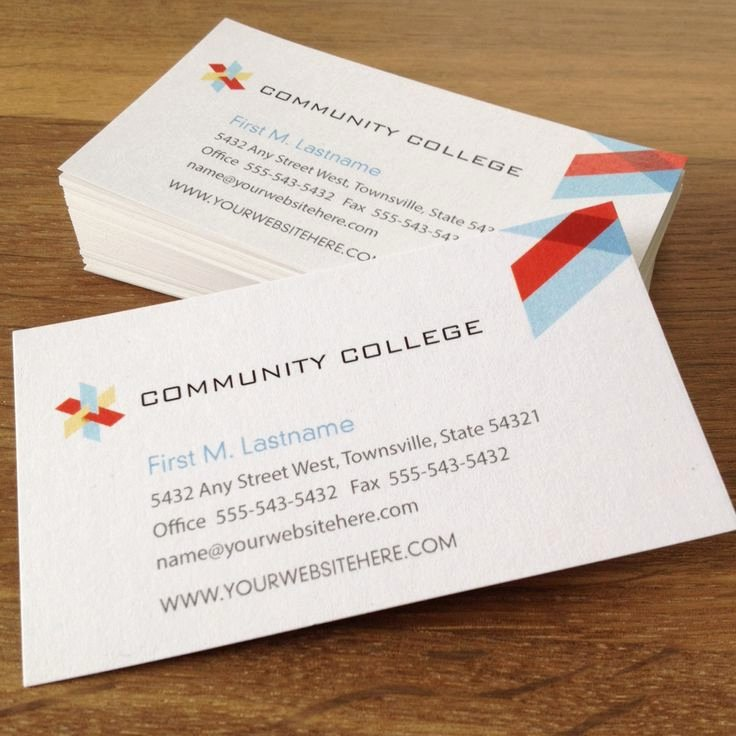 College Student Business Card Template New 17 Best Images About Education Marketing On Pinterest