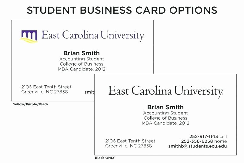 College Student Business Card Template Unique Student Business Card Template – Jjbuildingfo
