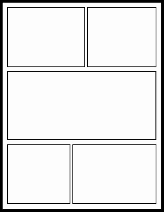 Comic Strip Template Word Awesome Ic Template for My Ics Unit