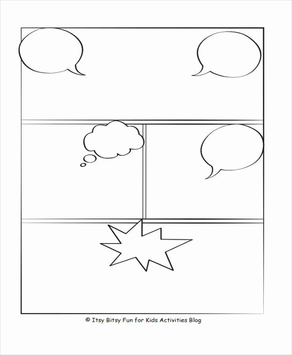 Comic Strip Template Word Best Of 6 Ic Storyboard – Examples In Word Pdf