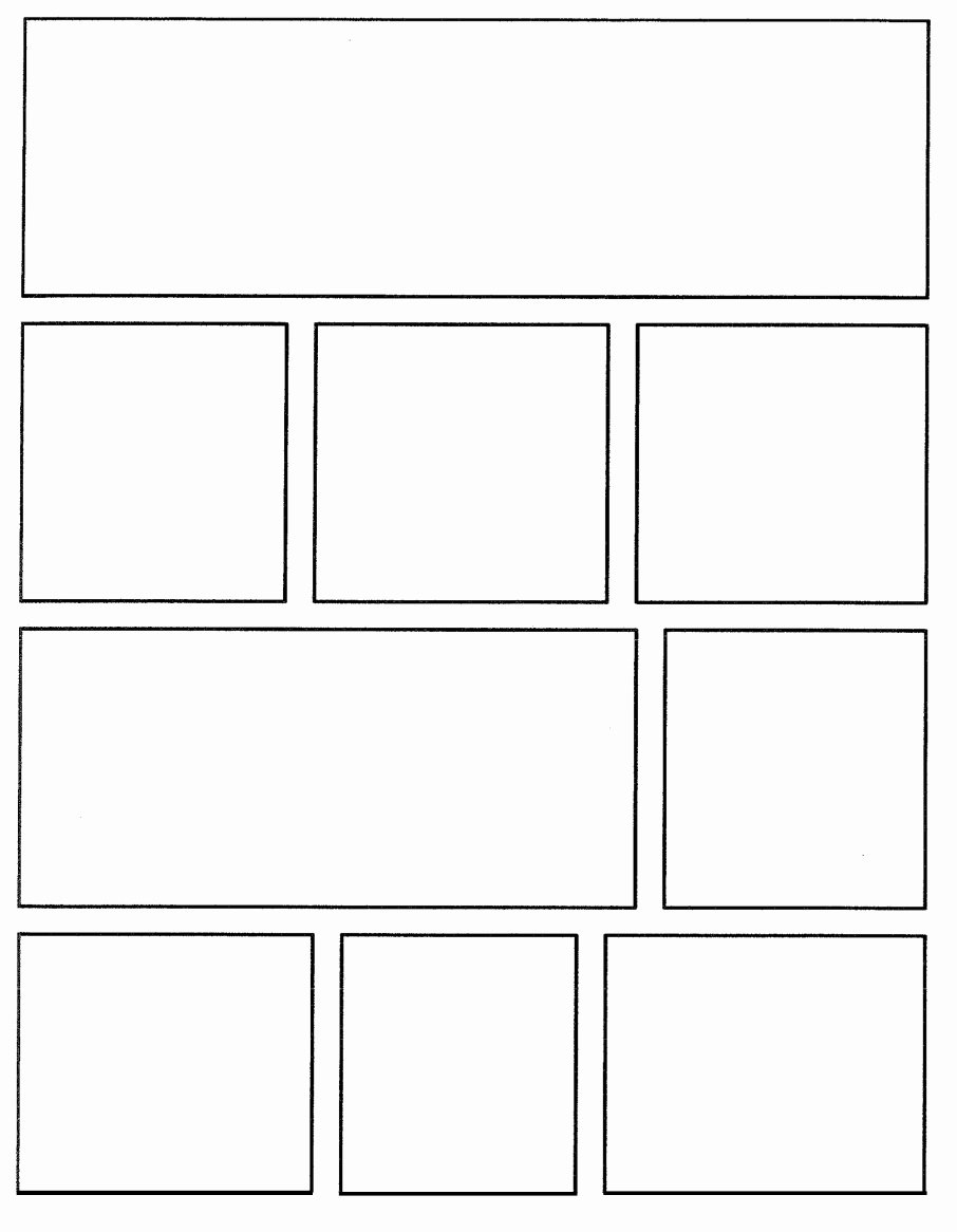 Comic Strip Template Word Best Of Free Printable Ic Strip Template
