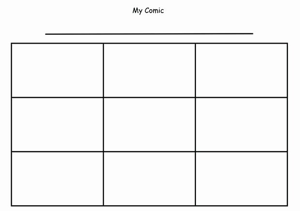 Comic Strip Template Word Best Of Ic Strip Template Word Stock with Speech Bubbles