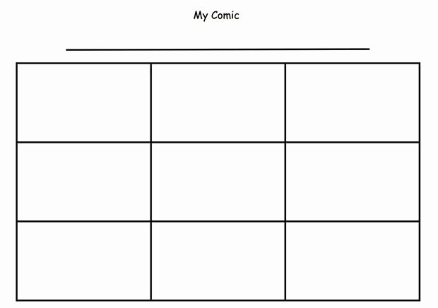 Comic Strip Template Word Elegant Ic Strip Template Beepmunk