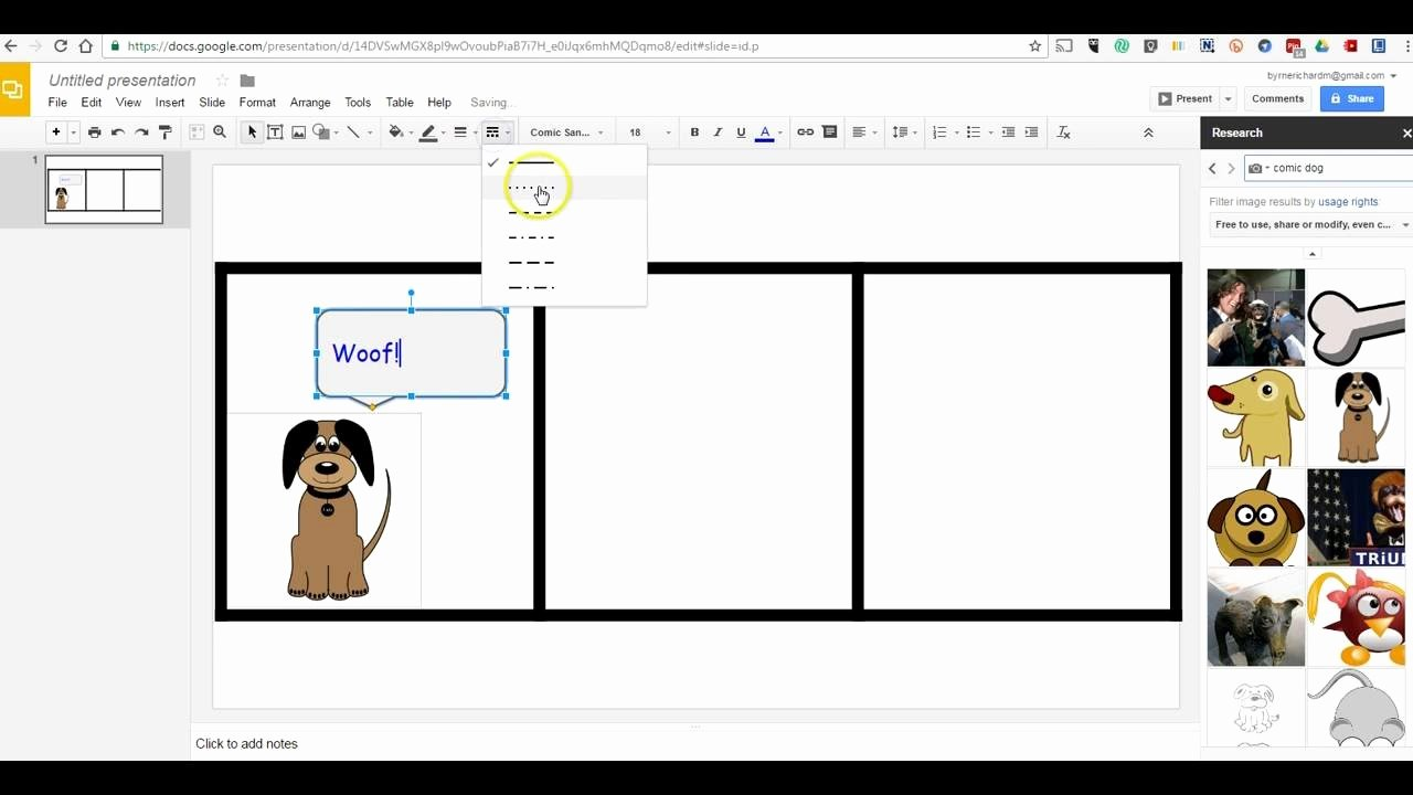 Comic Strip Template Word Fresh How to Create Ic Strips In Google Slides