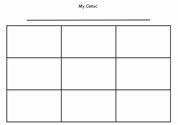 Comic Strip Template Word Fresh Ic Strip Coloring Pages – Alex Photo