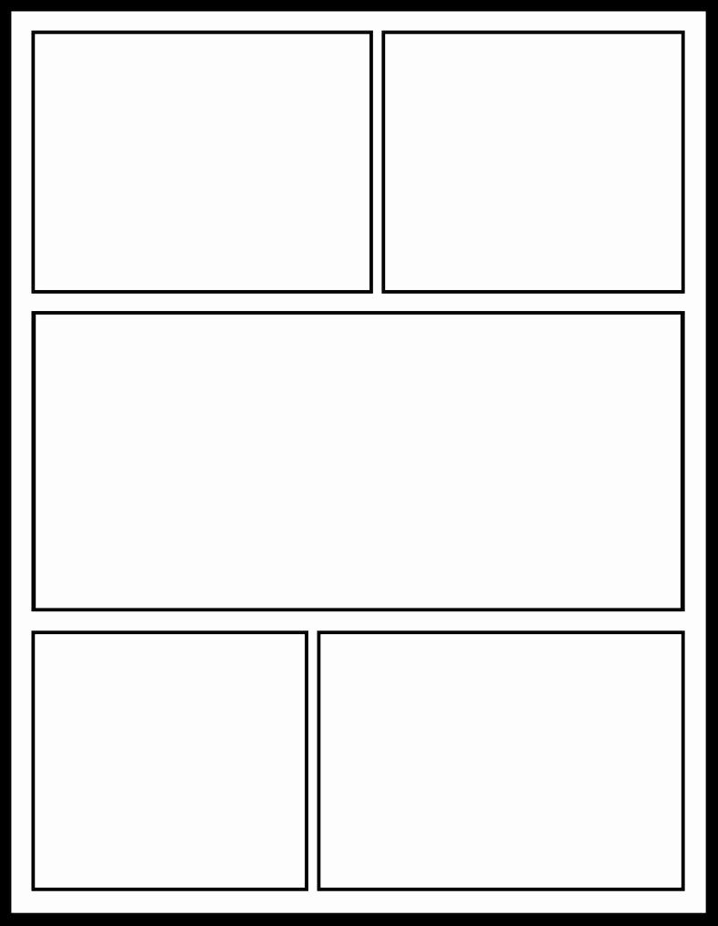 Comic Strip Template Word Luxury 12 Of Ic Strip Template Printable for the