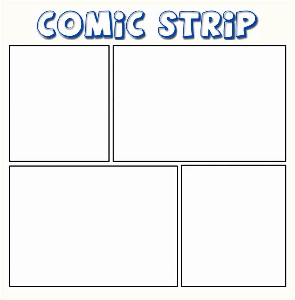 Comic Strip Template Word New 11 Ic Templates for Free Download