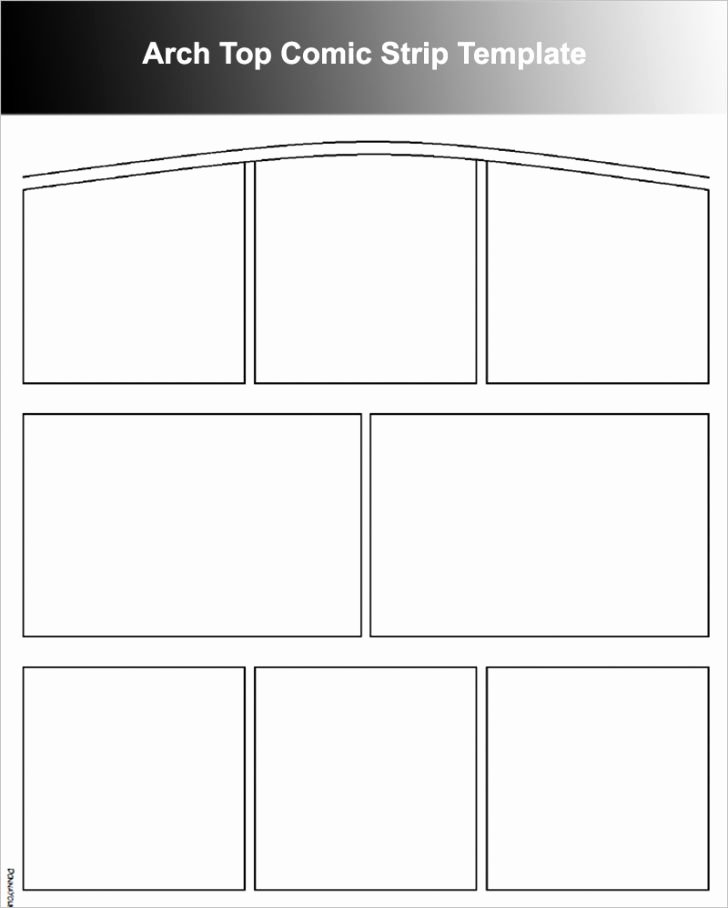 Comic Strip Template Word New Template Ic Strip Template