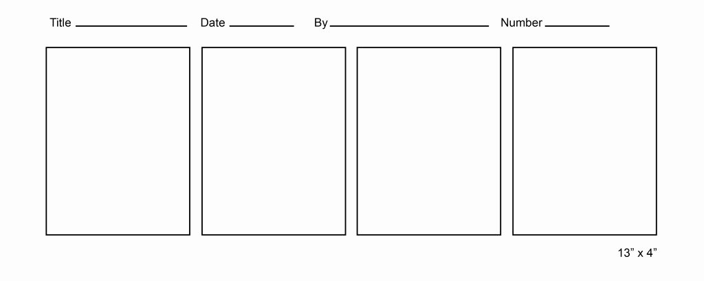 Comic Strip Template Word Unique Free Ic Strip Template for Kids