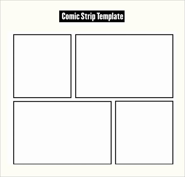 Comic Strip Template Word Unique Ic Strip Template 6 Download Free Documents In Pdf