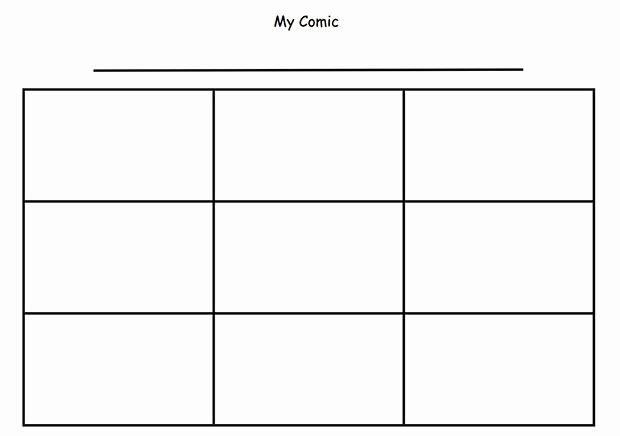 Comic Strip Template Word Unique Ic Strip Template
