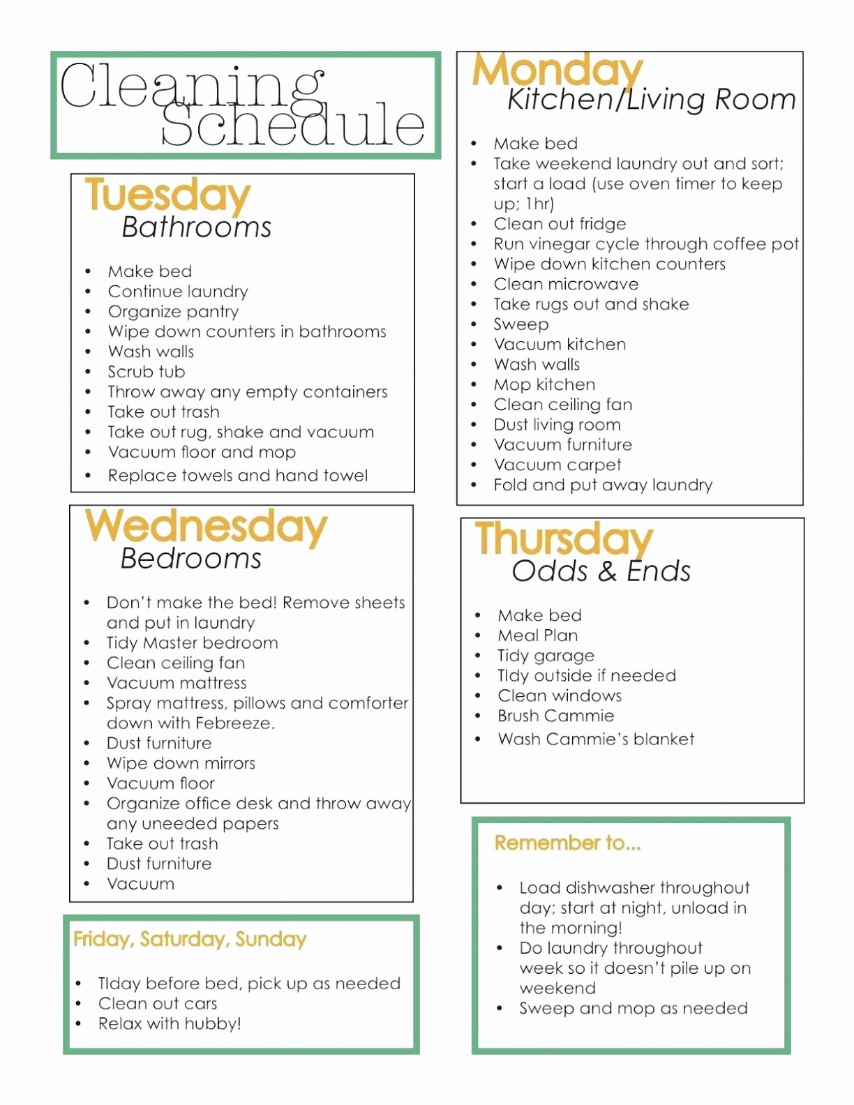 Commercial Cleaning Checklist Template Fresh Mercial Kitchen Cleaning Checklist Template