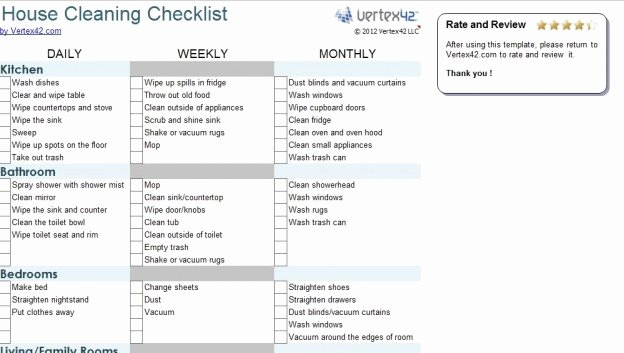 Commercial Cleaning Checklist Template Luxury Mercial Cleaning Contract Template