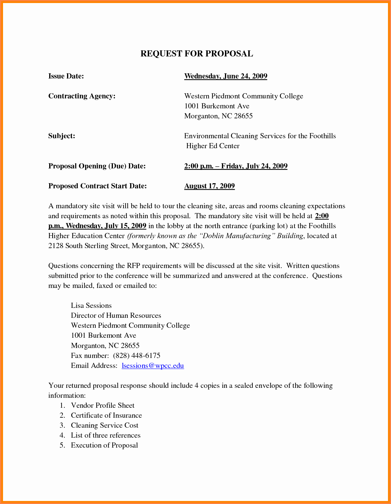 Commercial Cleaning Proposal Template Free Best Of 2 Janitorial Business Proposal Sample